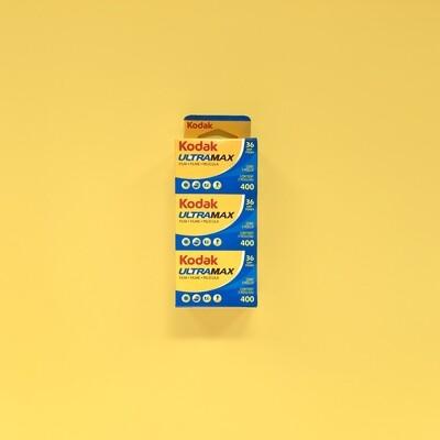 Kodak Ultramax 400 36exp Triple Pack