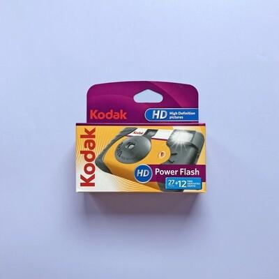 Kodak HD Power Flash Disposable Camera 27+12exp