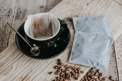 Finest Fresh 100% Colombia Coffee Bags