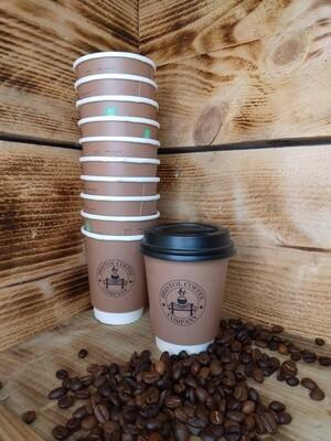 8oz Bristol Coffee Cups x50