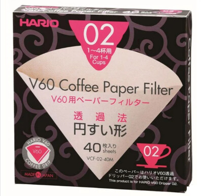 Hario V60 02 Filter Papers x40