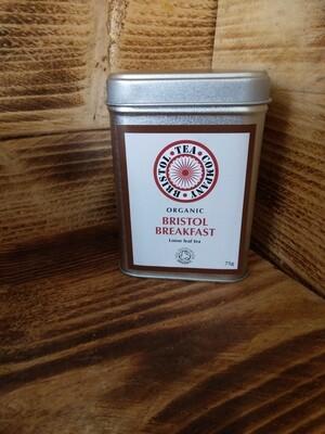Organic Bristol Breakfast Loose Leaf Tea 75g