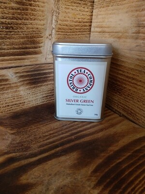 Organic SIiver Green Loose Leaf Tea 50g