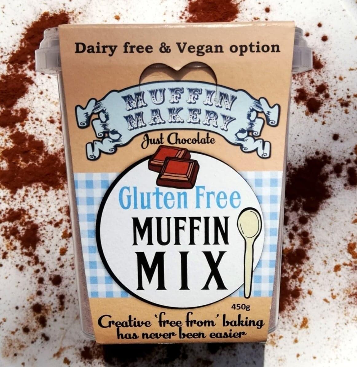 Just Chocolate Gluten Free Muffin Mix