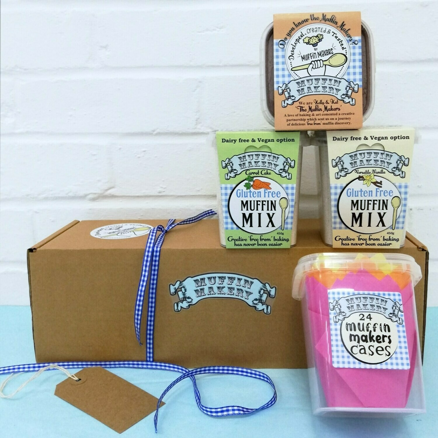 Muffin Makers Gift Box With Cases