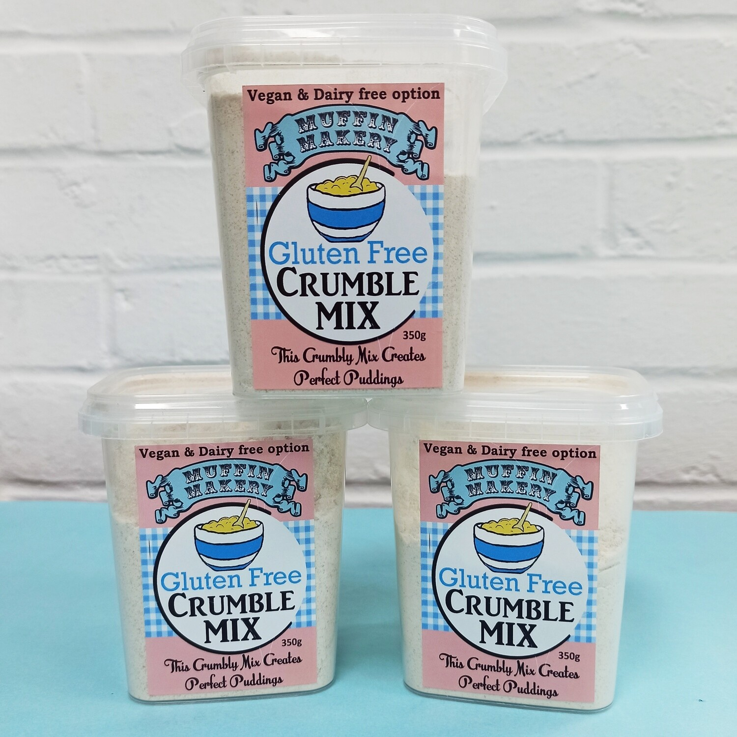 Gluten Free Crumble Mix Triple Pack