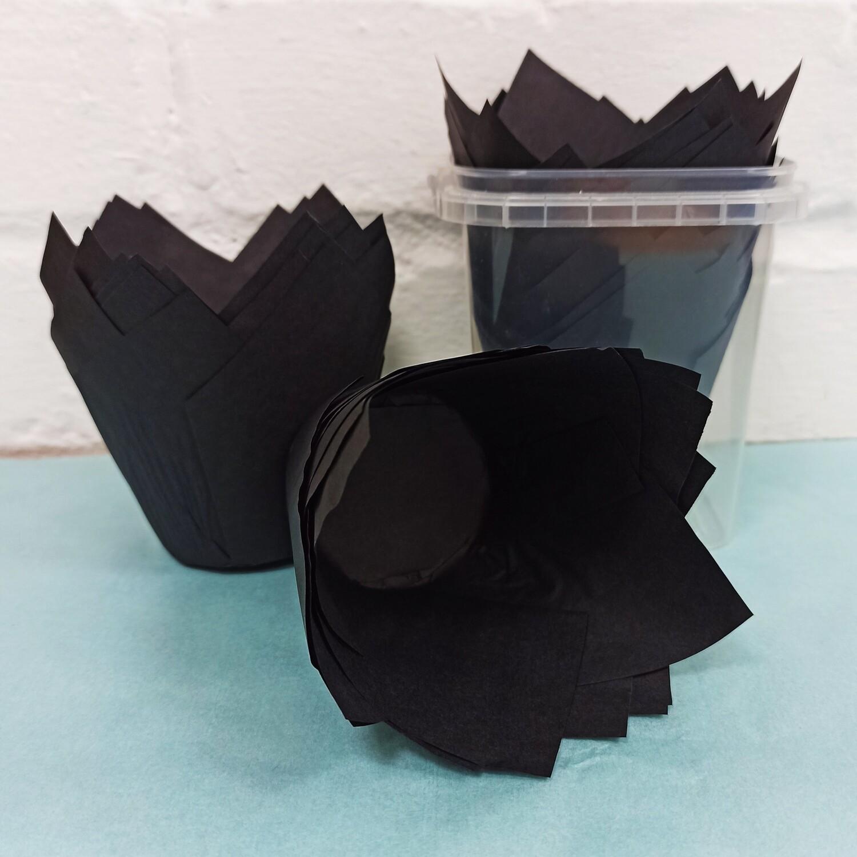 Professional tulip muffin cases x 24