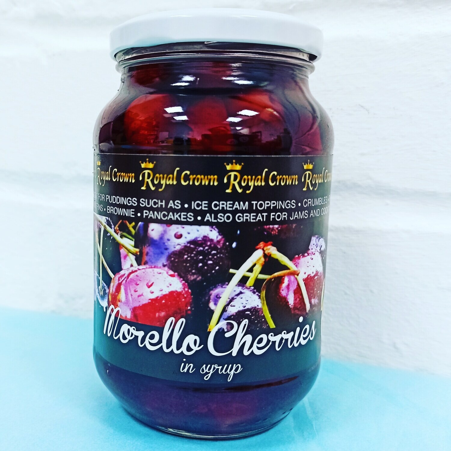 Morello cherries in Syrup