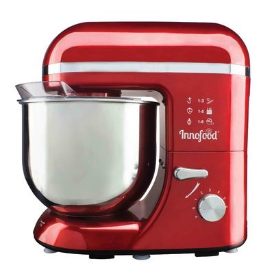 Innofood KT609 Stand Mixer 6.5 Liters RED/PINK/SILVER