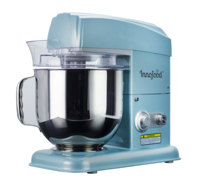 Innofood KT-7600 Professional Series  Stand Mixer 7.0 Liters  (Jade Blue)