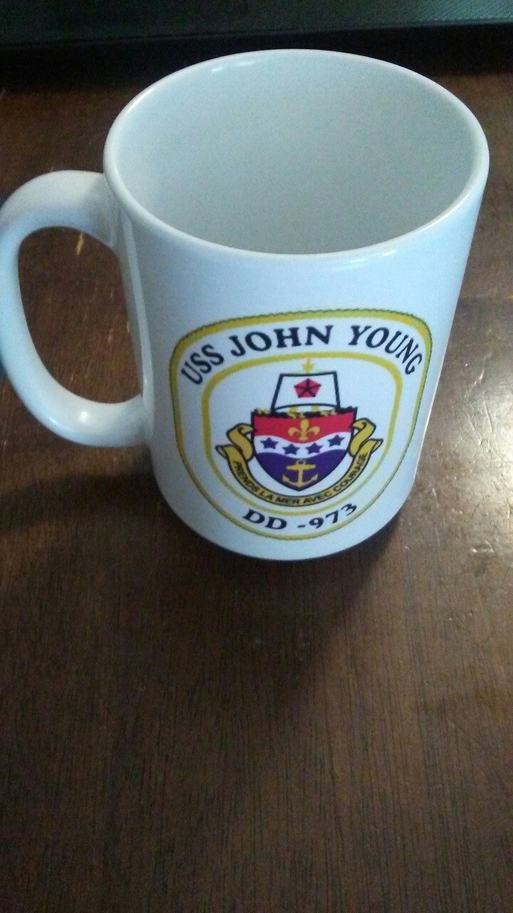 John Young Mug (Ship's Crest)