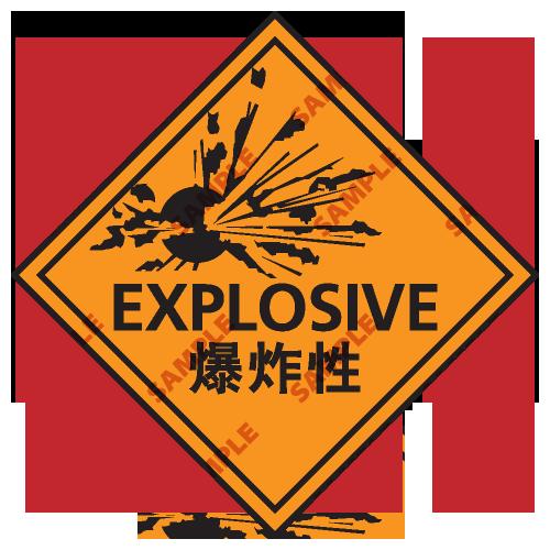 C1 - 化學類安全標誌