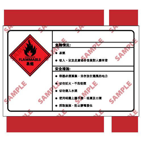 CL29 - 化學類安全標誌