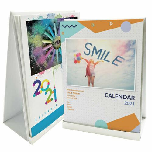 DSA07 磁石座座枱月曆 (快樂人生)