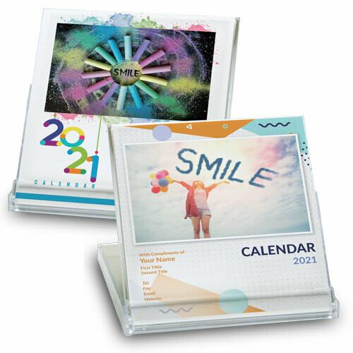 DSA04 透明盒月曆 (快樂人生)