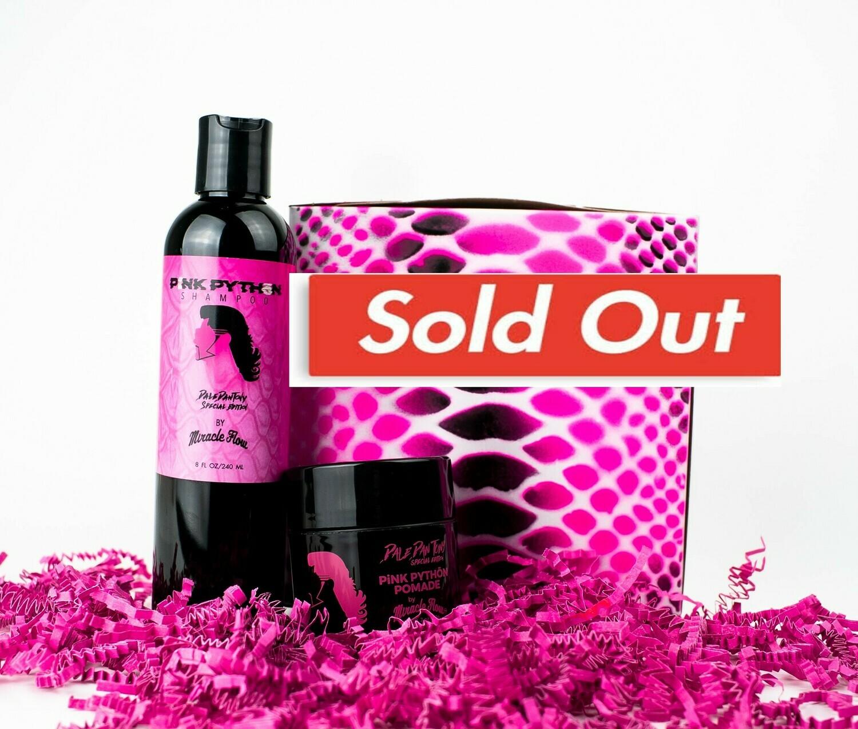 Dale Dan Tony Pink Python shampoo & pomade box set by Riff Raff-
