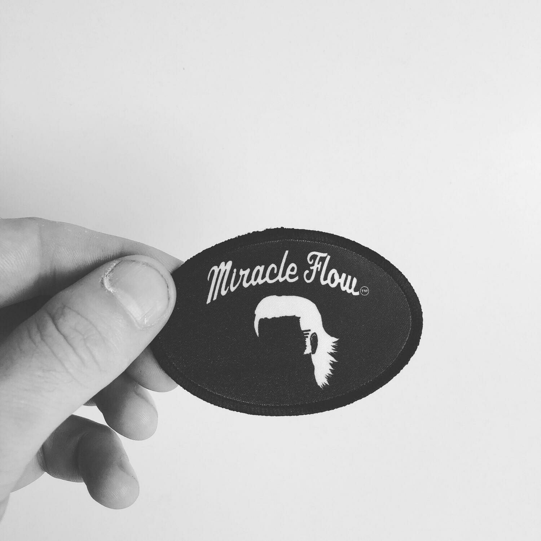 MF iron on patch
