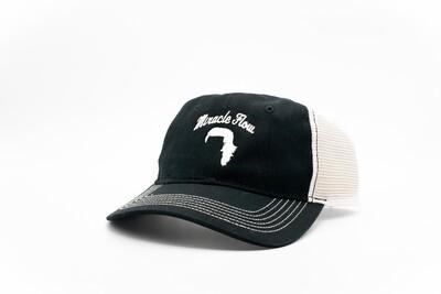 mf-H11face logo trucker hat