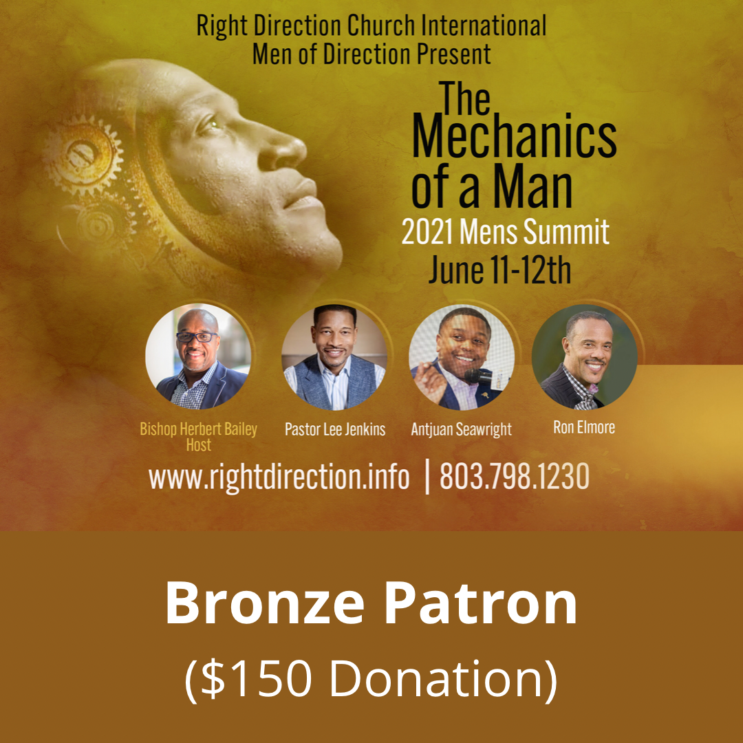 MOD Men's Summit -  Bronze Patron ($150 Donation)