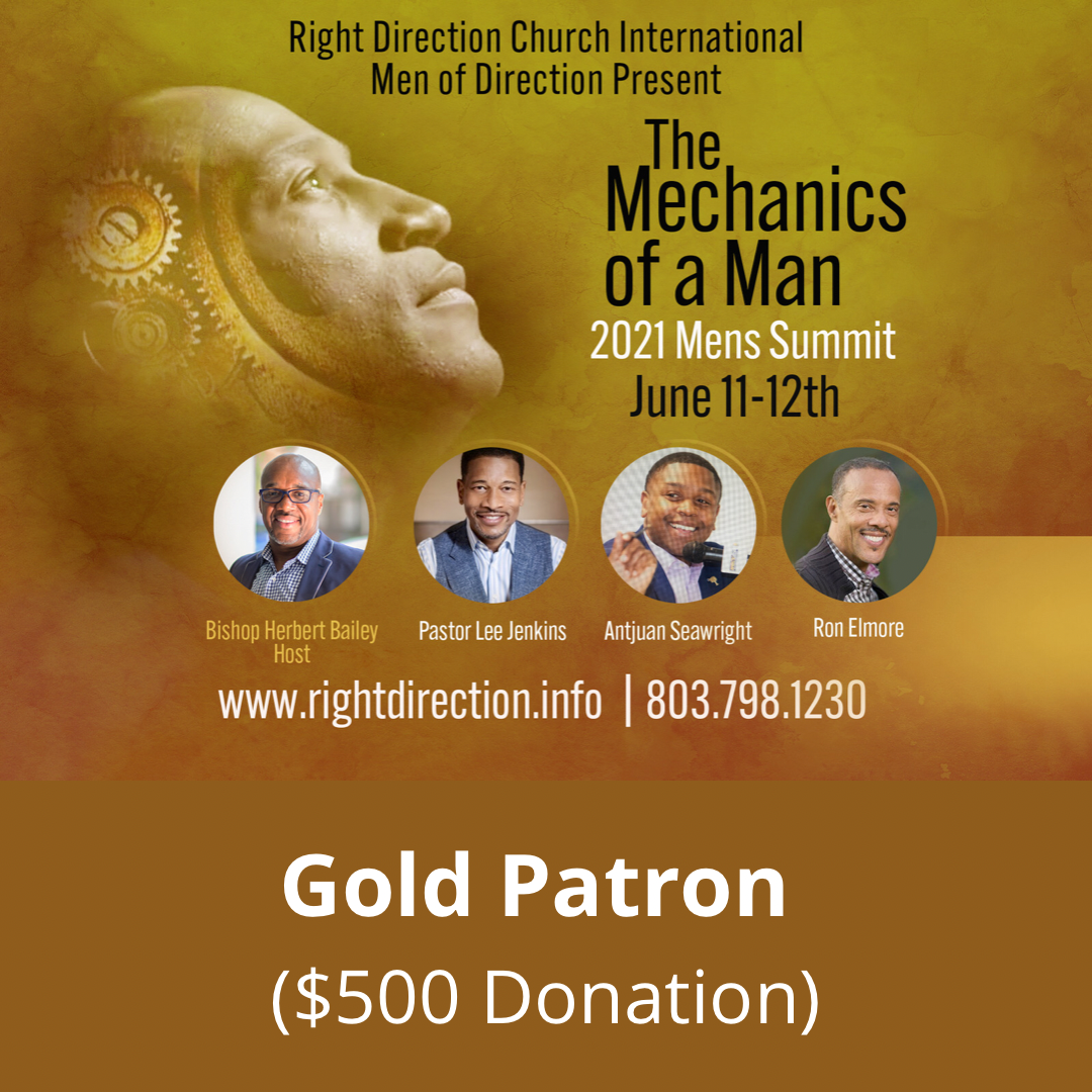 MOD Men's Summit - Gold Patron ($500 Donation)