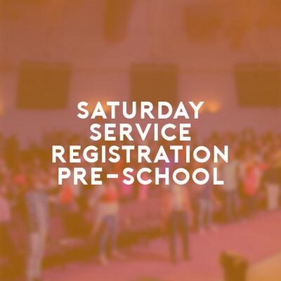 Pre-School Saturday Service (26 June 21) 6:00p