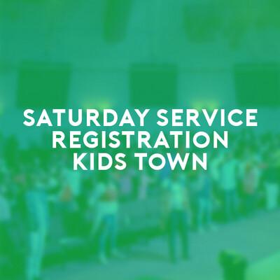 Kids Town Saturday Service (26 June 21) 6:00p