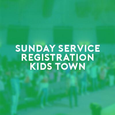 Kids Town Sunday Service (27 June 21) 7:30a