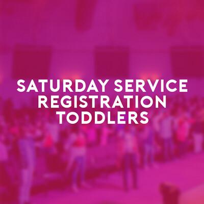 Toddlers Saturday Service (26 June 21) 6:00p