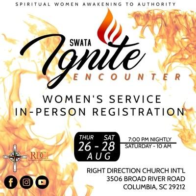 SWATA Ignite Encounter Service Registration