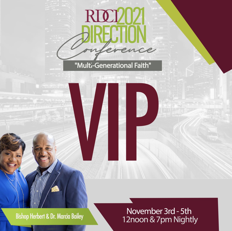 Direction Conference VIP Registration 2021