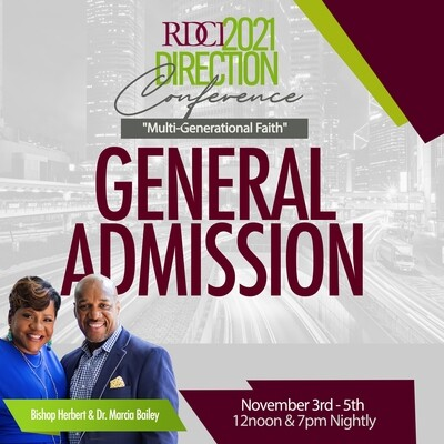 Direction Conference 2021 General Admission