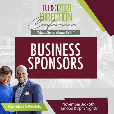 Direction Conference 2021 Business Sponsor