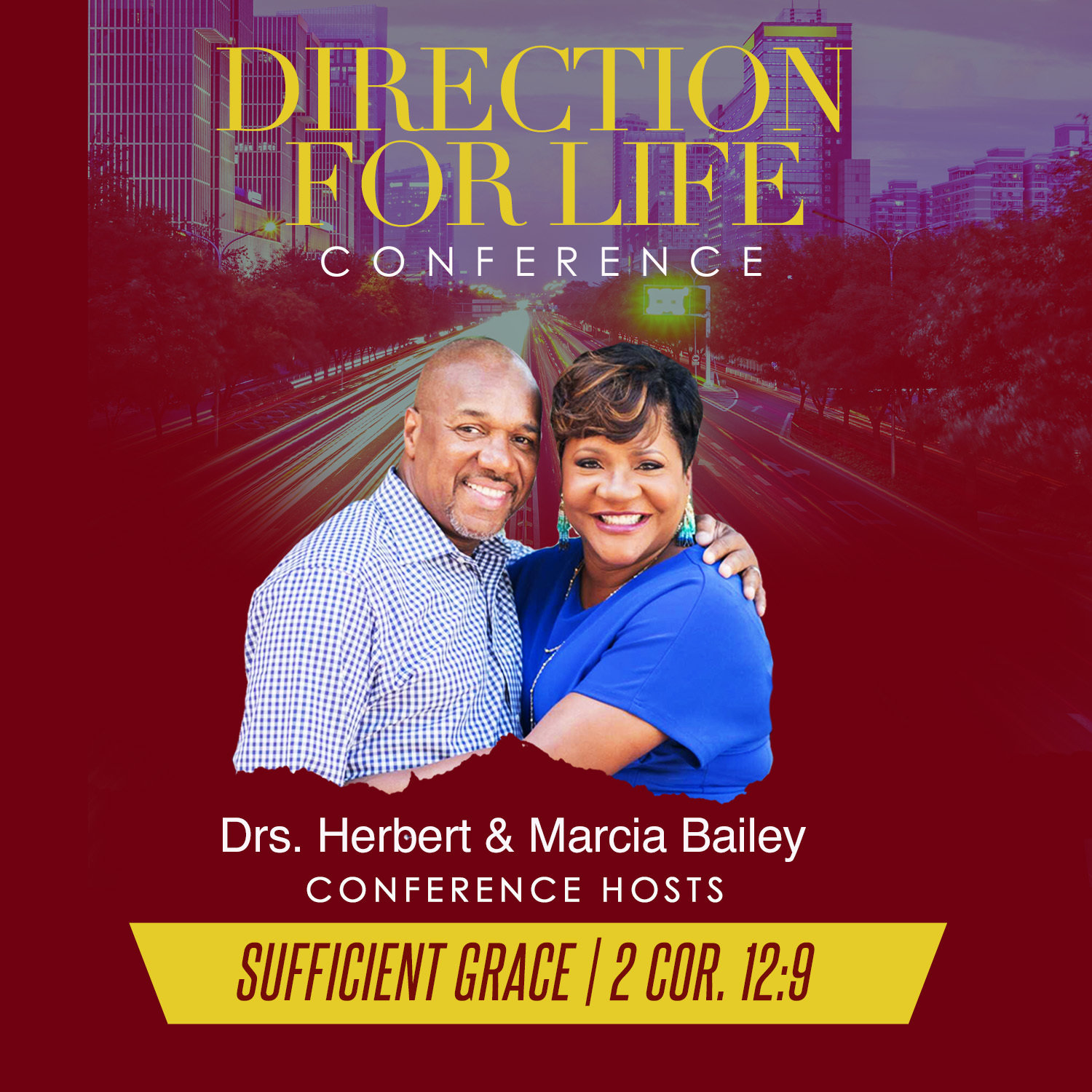Direction for Life 2017: Sufficient Grace-CD Series