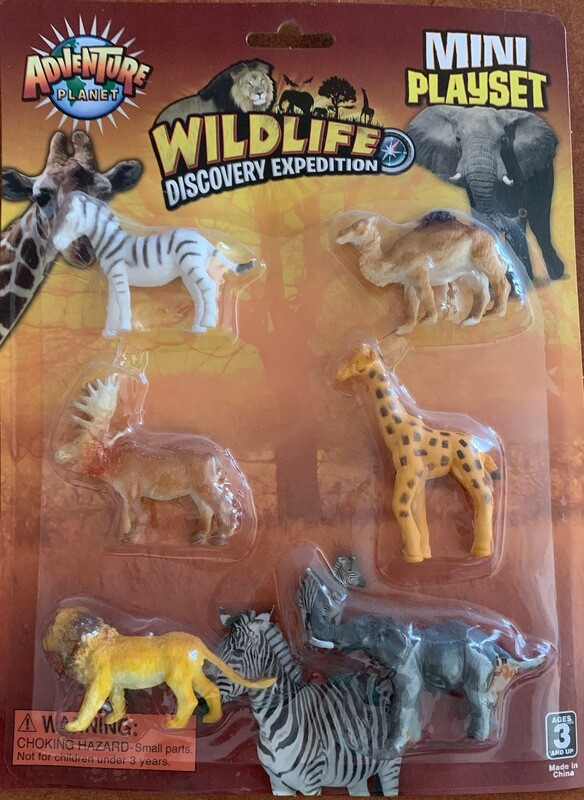 The Wild Animal Playset