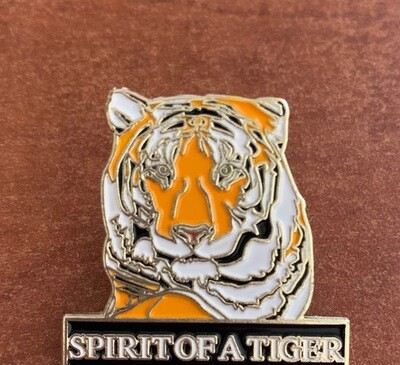 Spirit of a Tiger Enamel Pin