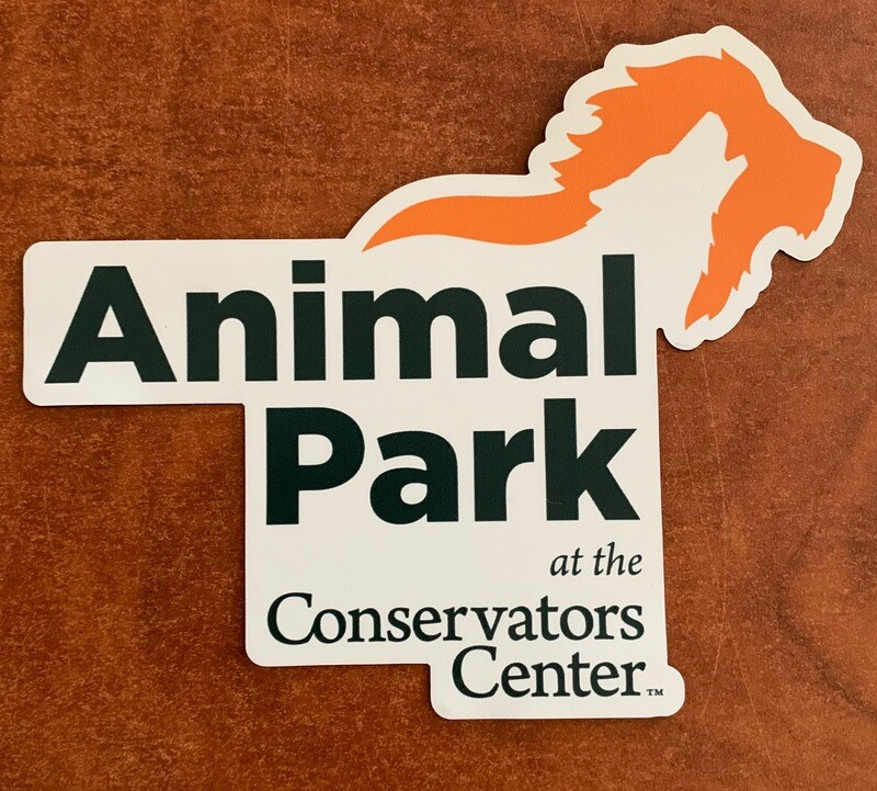 Animal Park Logo Car Magnet