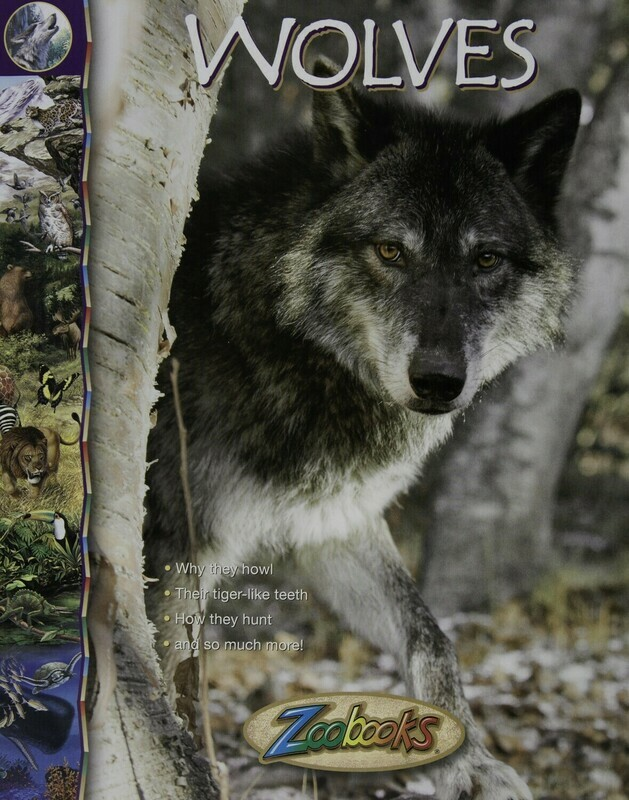 Zoo Books- Wolves