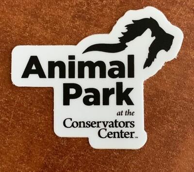 Small Animal Park Logo Sticker