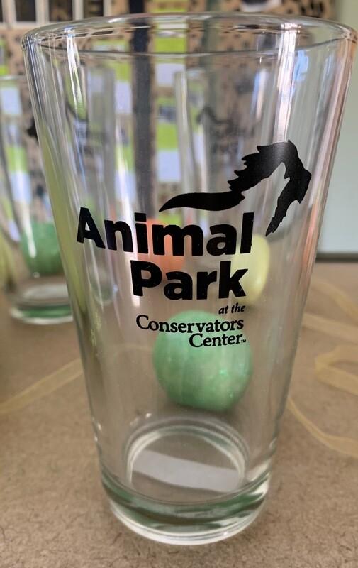 Animal Park Logo Pint Glass