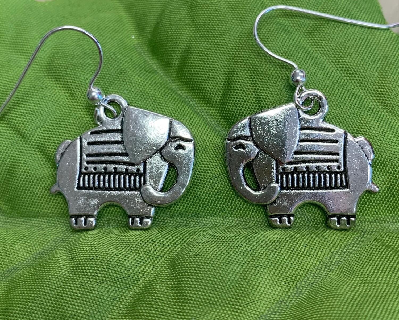 Beautiful Elephant Earrings