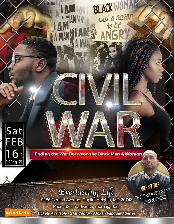Civil War: Ending the War Between the Black Man & Woman