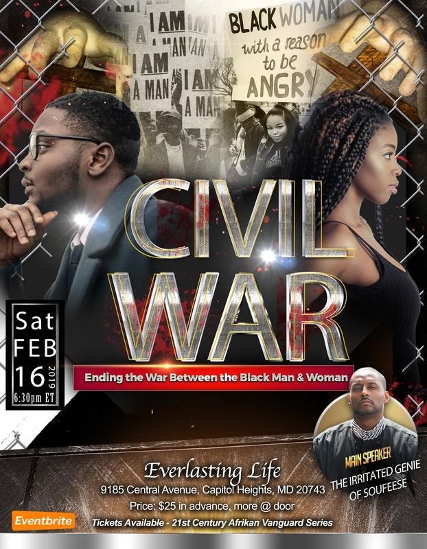 Civil War: Ending the War Between Black Men & Women - .mp4 Electronic Email Version
