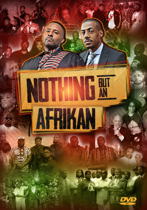 Nothing But an Afrikan (4-Disc DVD Set) - .mp4 Electronic Email Version