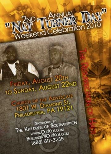 2010 Nat Turner Day Celebration.mp4 Electronic Email Version