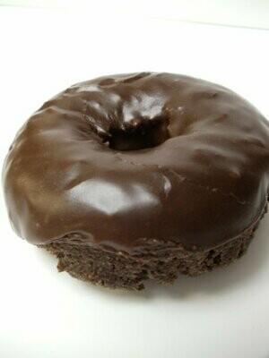 Fudge Cake Donut, Chocolate Icing (Single Donut)