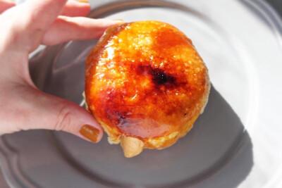 Crème Brûlée Donut (Single Donut)