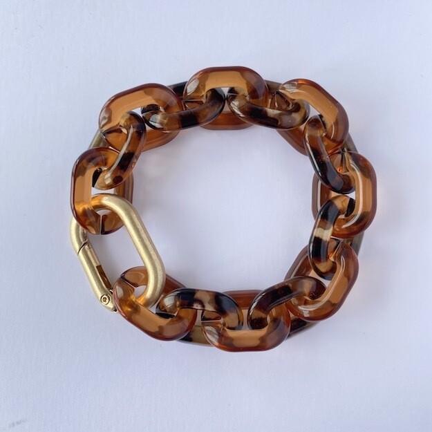 chunky bracelet 'tigers only'
