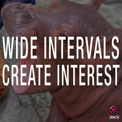 Wide Intervals Create Interest