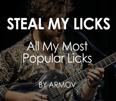 Steal My Licks by Armov