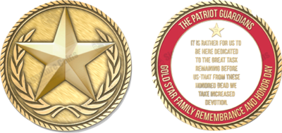 Commemorative Gold Star Coin